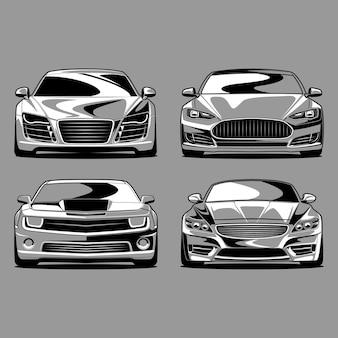 Sets van auto