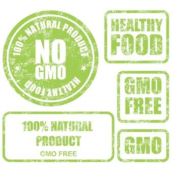 Shabby gmo-vrije labels