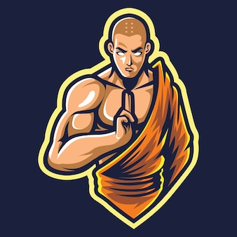 Shaolin esport logo afbeelding