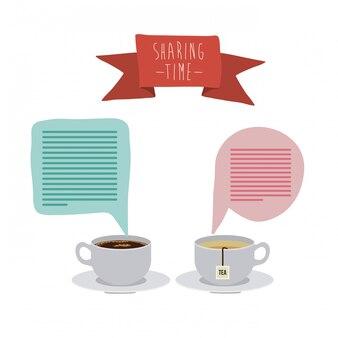Sharing time design