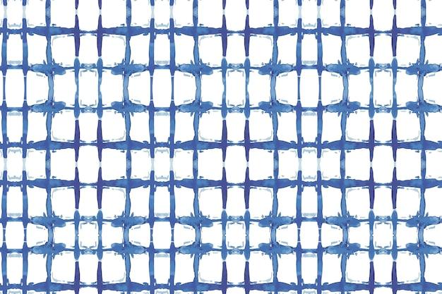 Shibori lijnen patroon aquarel