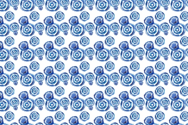 Shibori patroon aquarel
