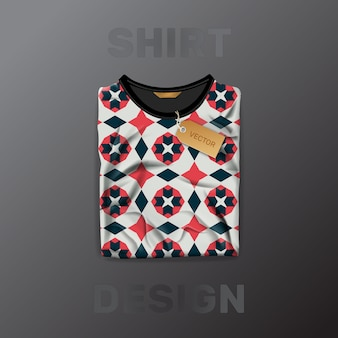 Shirt patroon sjabloon
