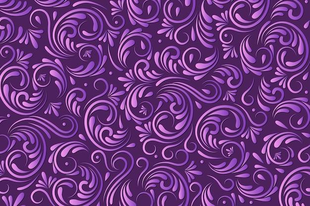 Sier abstracte bloemenachtergrond