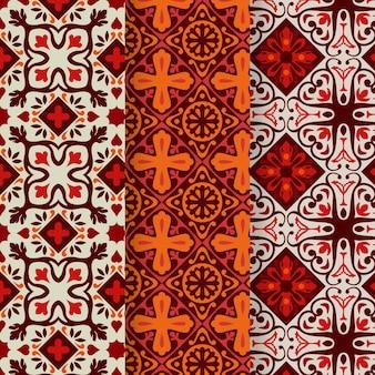 Sier arabische patrooninzameling