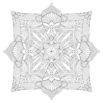 Sier boheemse mandala