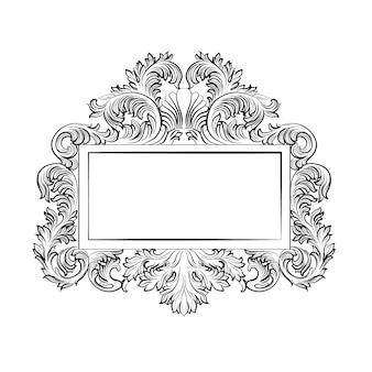 Sier luxe frame