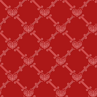 Sier naadloos patroon met harten