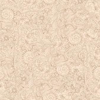 Sier naadloos patroon