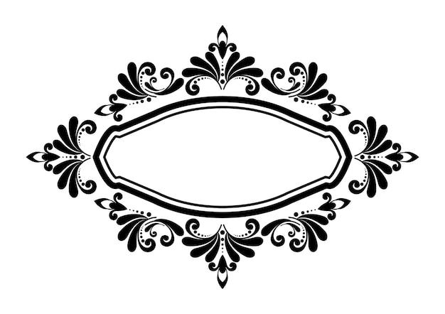 Sierlijke frame decoratief