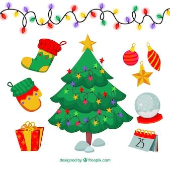 Sierpakket kerstelementen