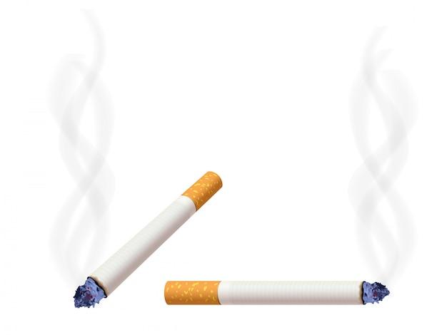 Sigaret branden