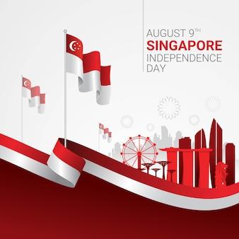 Singapore onafhankelijkheidsdagviering
