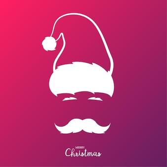 Sinterklaas met snor
