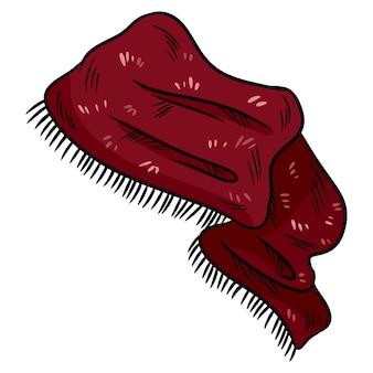 Sjaal sticker kleurrijke doodle