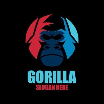 Sjablonen met gorilla-logo