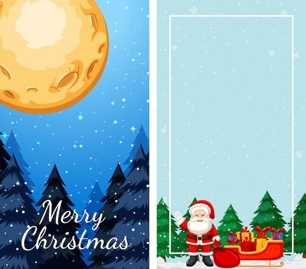 Sjablonen met kerstthema