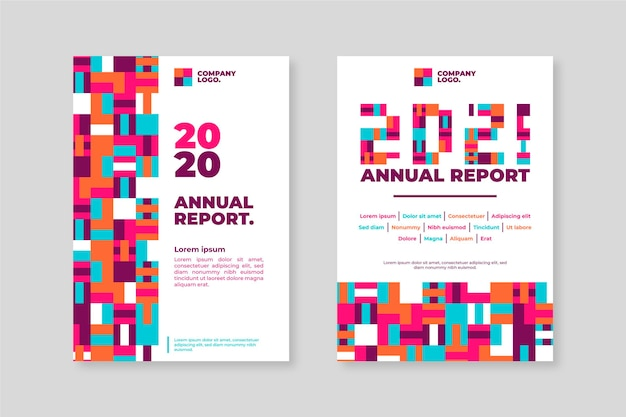 Sjablonen voor geometrisch jaarverslag 2020-2021