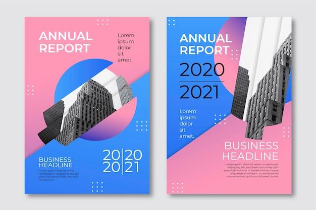 Sjablonen voor geometrisch jaarverslag 2020 en 2021