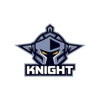 Sjablonen voor knight esports-logo