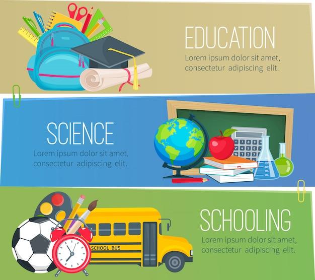 Sjablonen voor onderwijsscholen