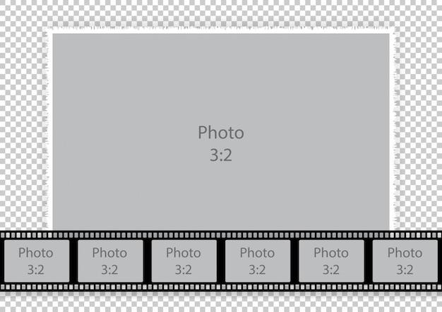 Sjabloon fotolijst collages