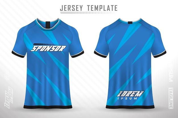 Sjabloon jersey sport