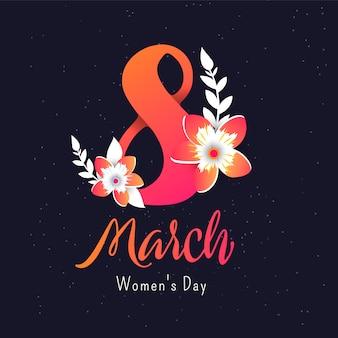 Sjabloon ontwerp poster voor gelukkige moederdag