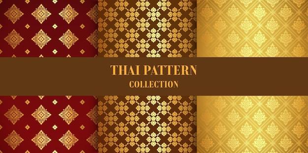 Sjabloon thais patroon instellen.
