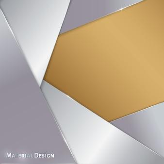 Sjabloon voor abstract achtergrondmateriaal ontwerp