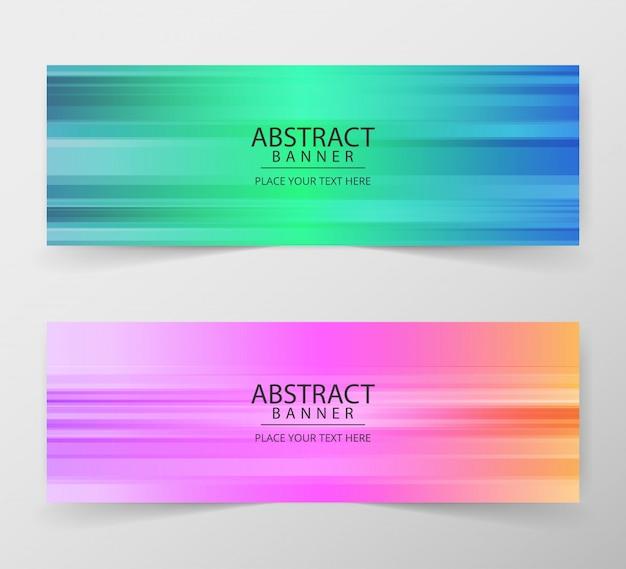 Sjabloon voor abstract geometrische web ontwerp spandoek.