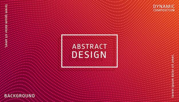 Sjabloon voor abstract gradiënt dynamische achtergrond