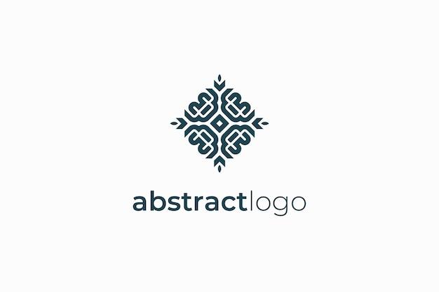 Sjabloon voor abstract luxe elegant logo