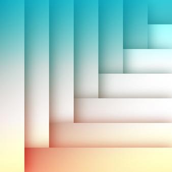 Sjabloon voor abstract plat kleurrijke achtergrond