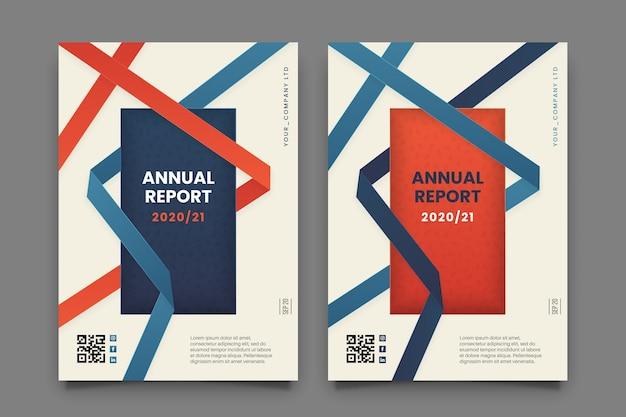 Sjabloon voor abstract zakelijke flyer