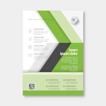 Sjabloon voor abstract zakelijke folder