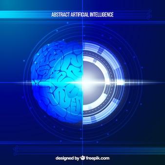 Sjabloon voor abstracte kunstmatige intelligentie