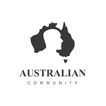 Sjabloon voor australische liefdadigheidslogo