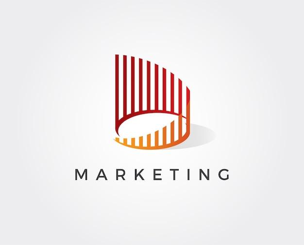 Sjabloon voor bank- of financiële logo