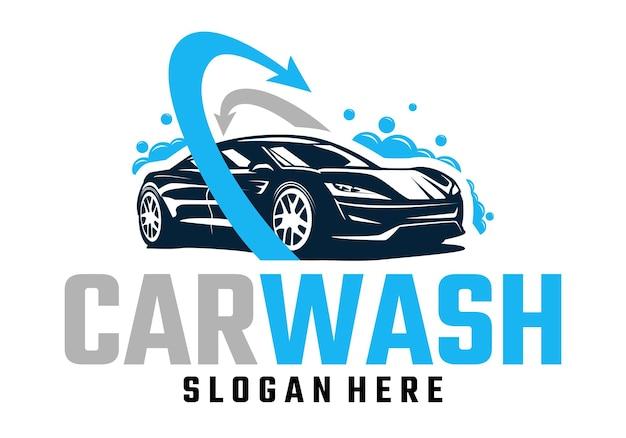 Sjabloon voor carwash-logo