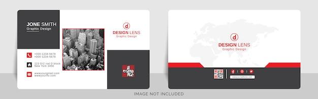 Sjabloon voor digitale zakelijke visitekaartjes
