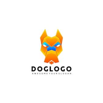 Sjabloon voor hondenlogo