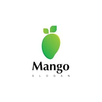 Sjabloon voor mangofruit-logo