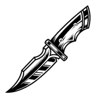 Sjabloon voor militair mes