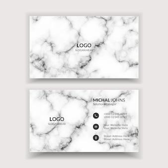 Sjabloon voor moderne professionele visitekaartjes