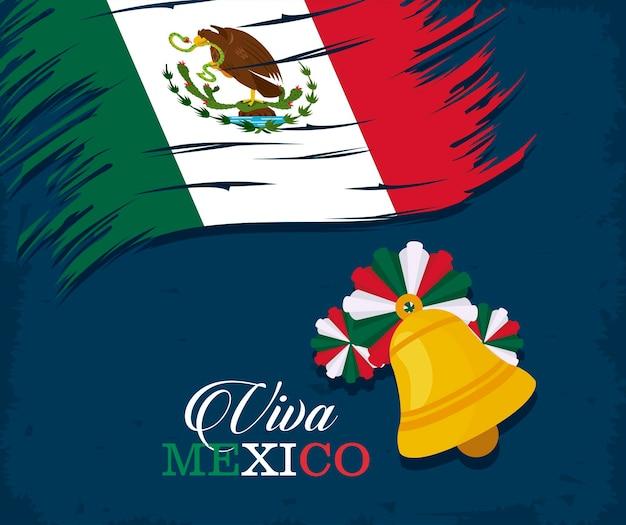 Sjabloon voor onafhankelijkheidsdag mexico