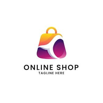 Sjabloon voor online winkellogo
