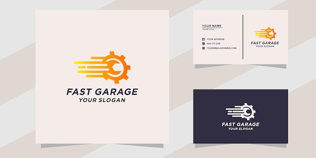 Sjabloon voor snel garagelogo