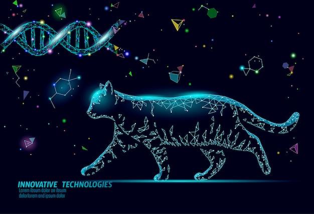 Sjabloon voor spandoek van kat silhouet veterinaire apotheek