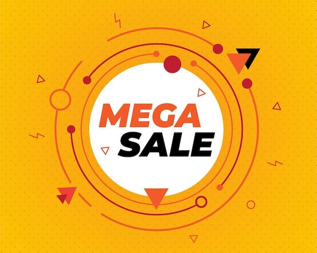 Sjabloon voor spandoek verkoop, black friday-banner, grote verkoop banner achtergrond